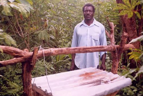 A top bar hive South Sudan